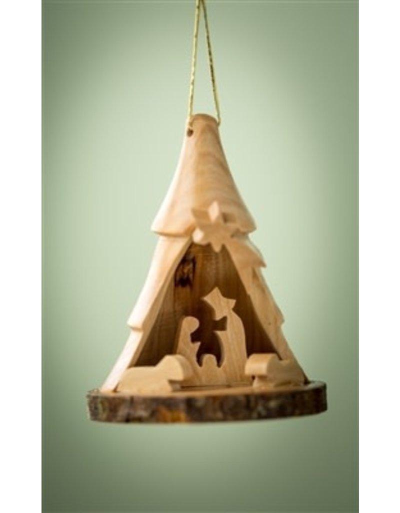 Small Bark Tree Nativity