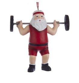 Weighlifter Santa
