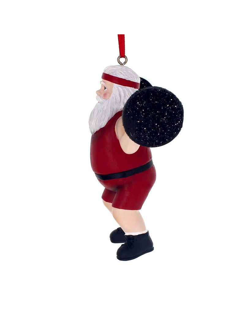 Weighlifter Santa