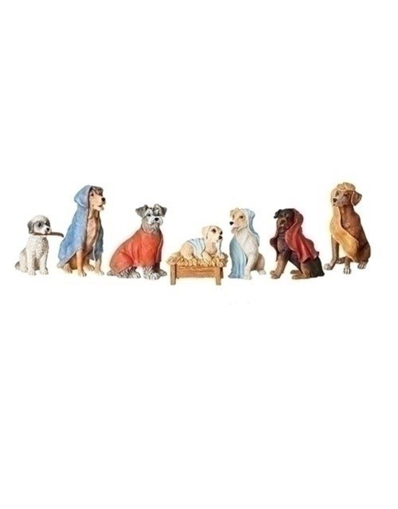 Dog Nativity Set of 7