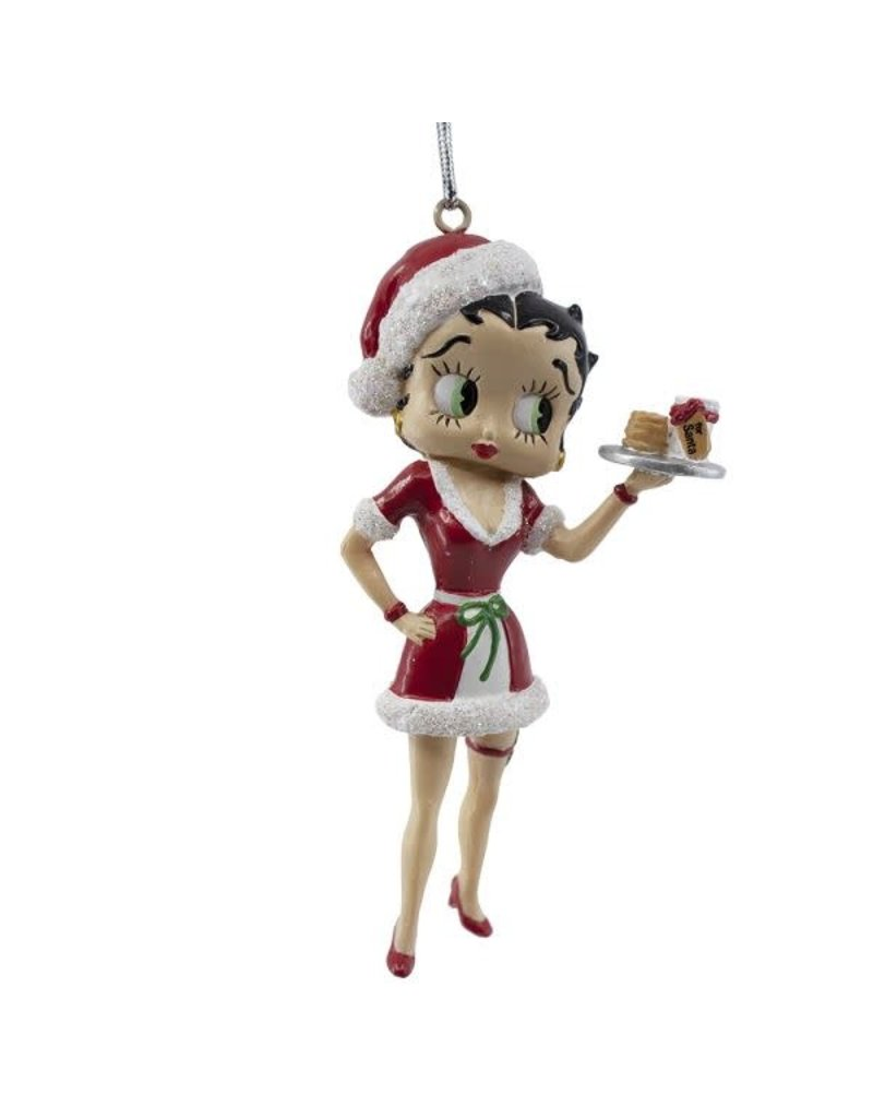 Betty Boop with Cookies Ornament