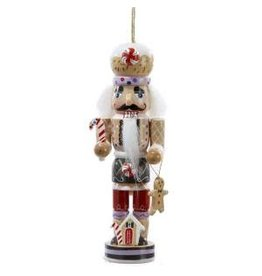 Gingerbread Nutcracker Ornament