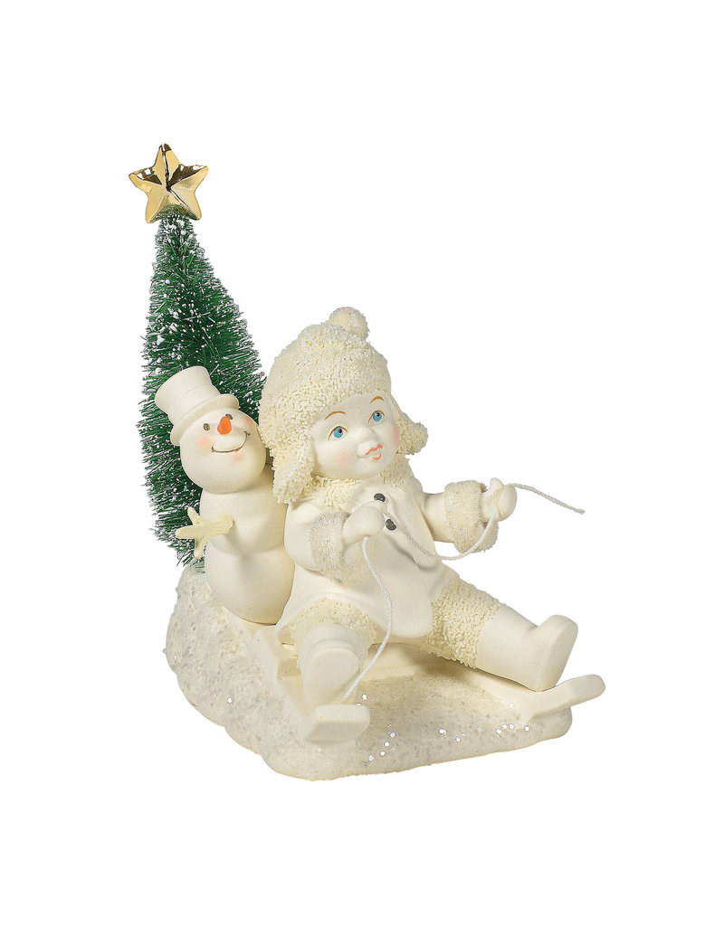Snowbabies Gold Star Delivery