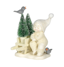 Snowbabies New Trees to Plant