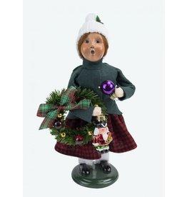 Glass Ornament Girl