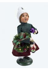 Glass Ornament Girl