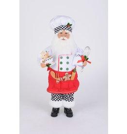 Karen Didion Karen Didion Baking Cookies Santa