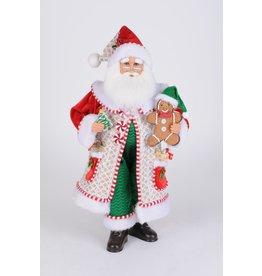 Karen Didion Karen Didion Whimsical Gingerbread Santa