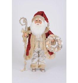Karen Didion Karen Didion Red Coat Seashell Santa