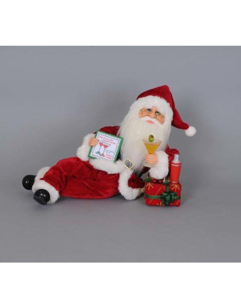 Karen Didion Karen Didion Martini Mixer Lying Santa