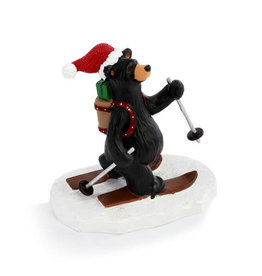 St. Nick Skier Bear