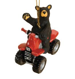 Bearfoots ATV Ornament