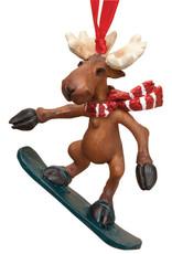 Snowboarder Moose