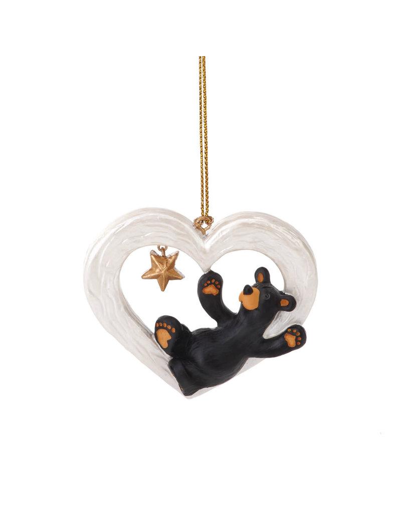 Bearfoots Gotta Have Heart Ornament