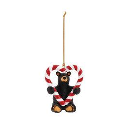 Bearfoots Holiday Sweet Heart Ornament