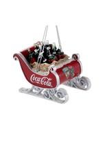 Coca-Cola Sleigh Ornament