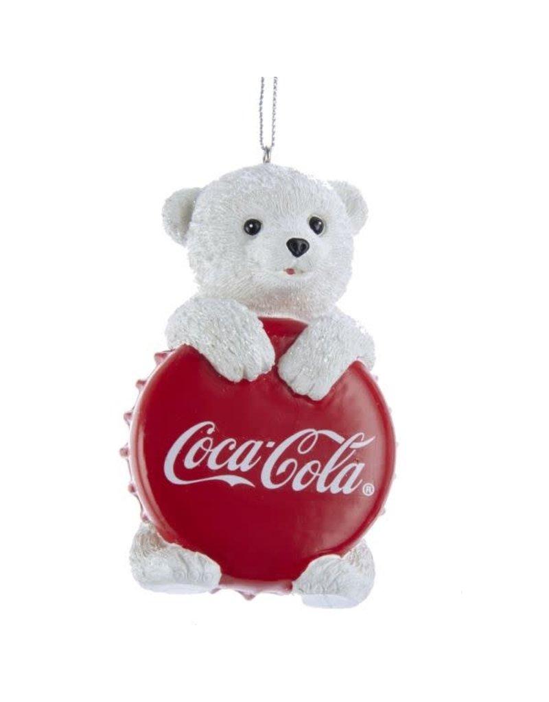 Cub with Coca-Cola Bottle Cap Ornament