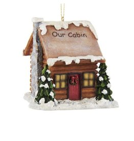 Lit Our Cabin Ornament