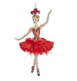 Fire Bird Ballerina Ornament