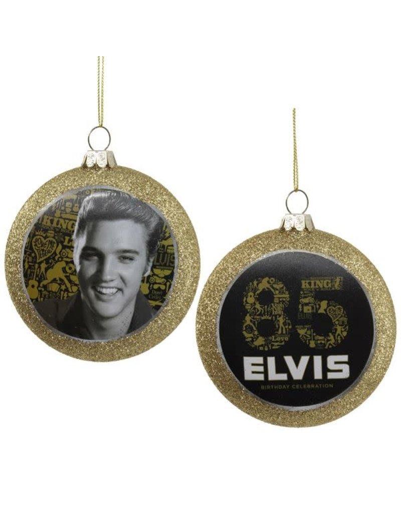 Elvis 85th Birthday Ball Ornament