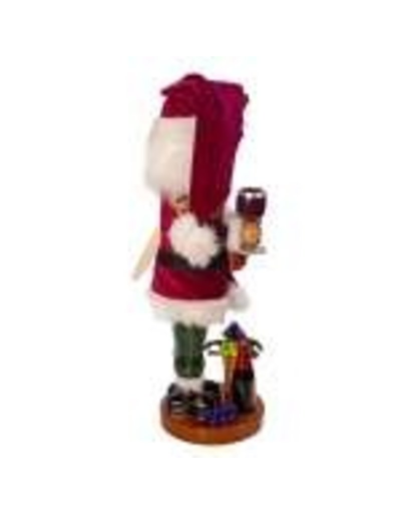 Steinbach Wine Maker Santa Nutcracker