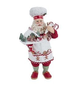 Fabriche Gingerbread Chef Santa