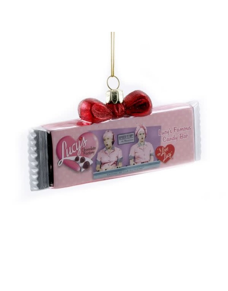 I Love Lucy Chocolate Bar Ornament