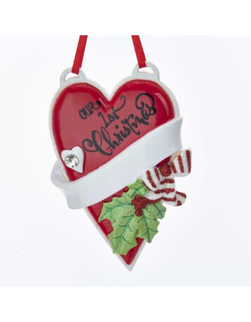 Our 1st Christmas Heart