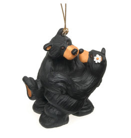 Bearfoots Bear Embrace Ornament