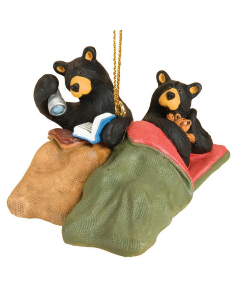 Bearfoots Camp Out Bears Ornament