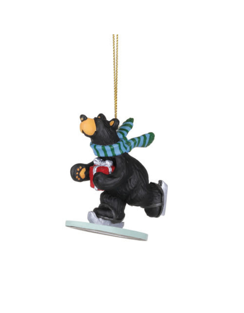 Bearfoots Special Delivery Ornament