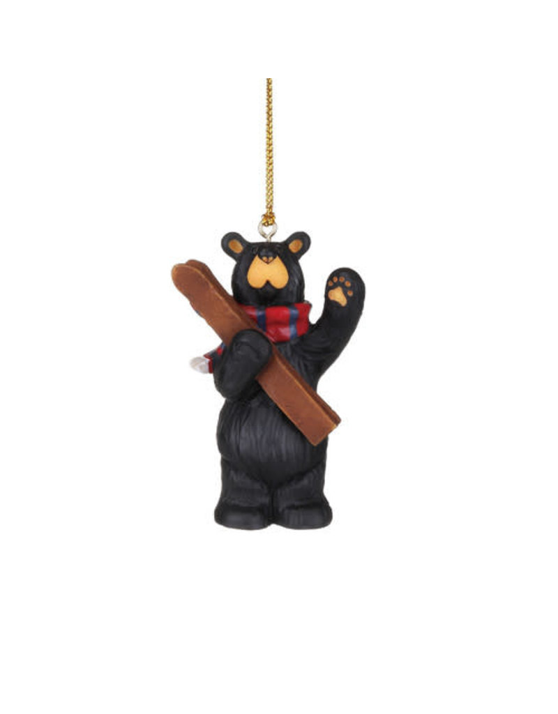 Bearfoots See You on the Slopes Ornament