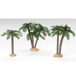 Fontanini Set of 3 Palm Trees