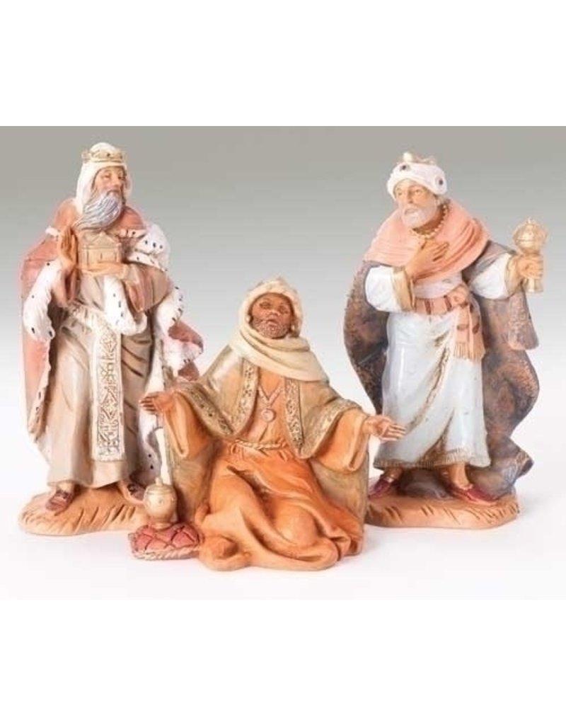 "Fontanini Three Kings Set of 3 - 5"""