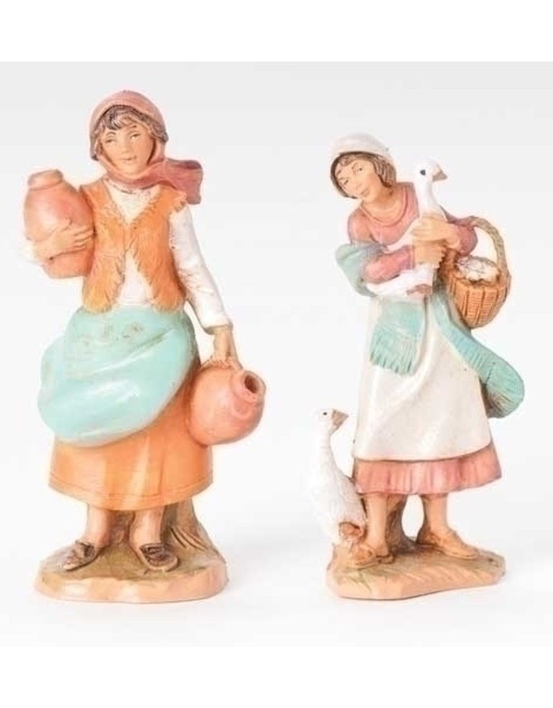 Fontanini  Debra and Judith Set of 2