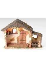 Fontanini Lighted Stable