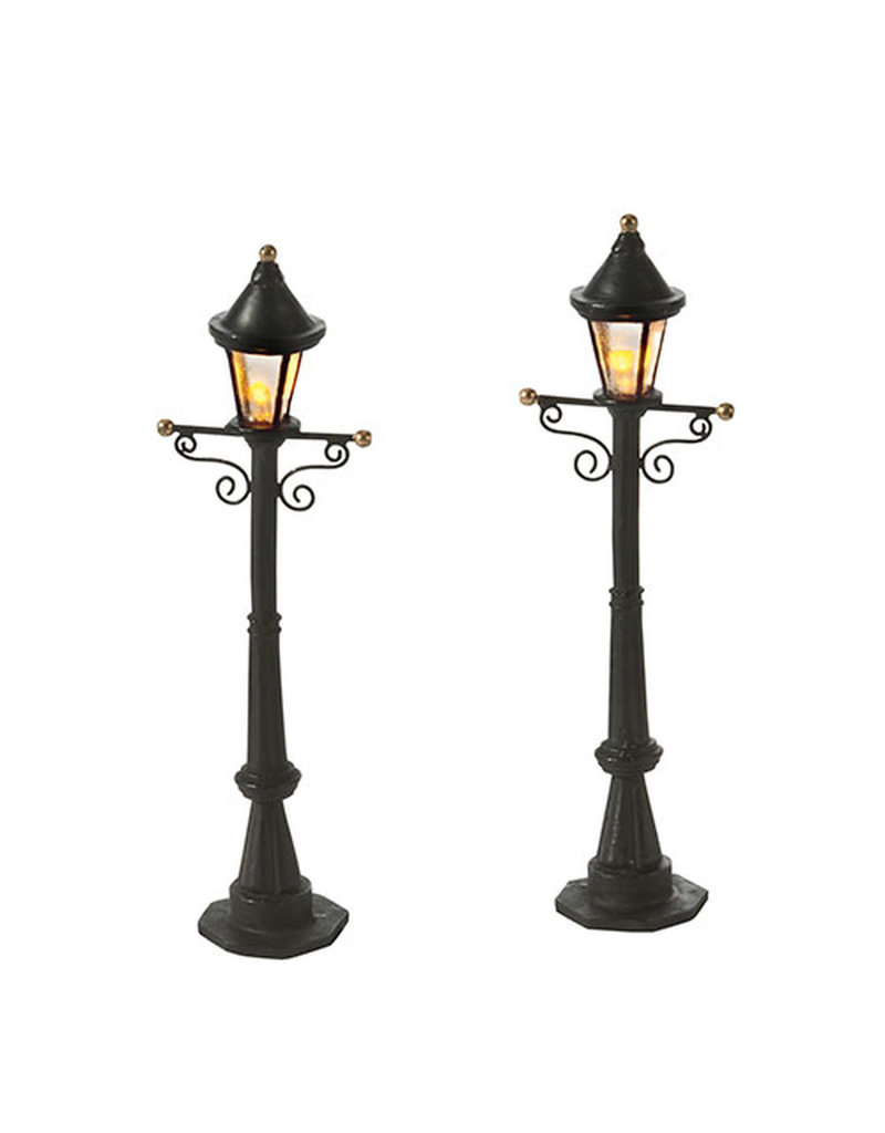 Department 56 Uptown Street Lights Set of 2 by Department 56
