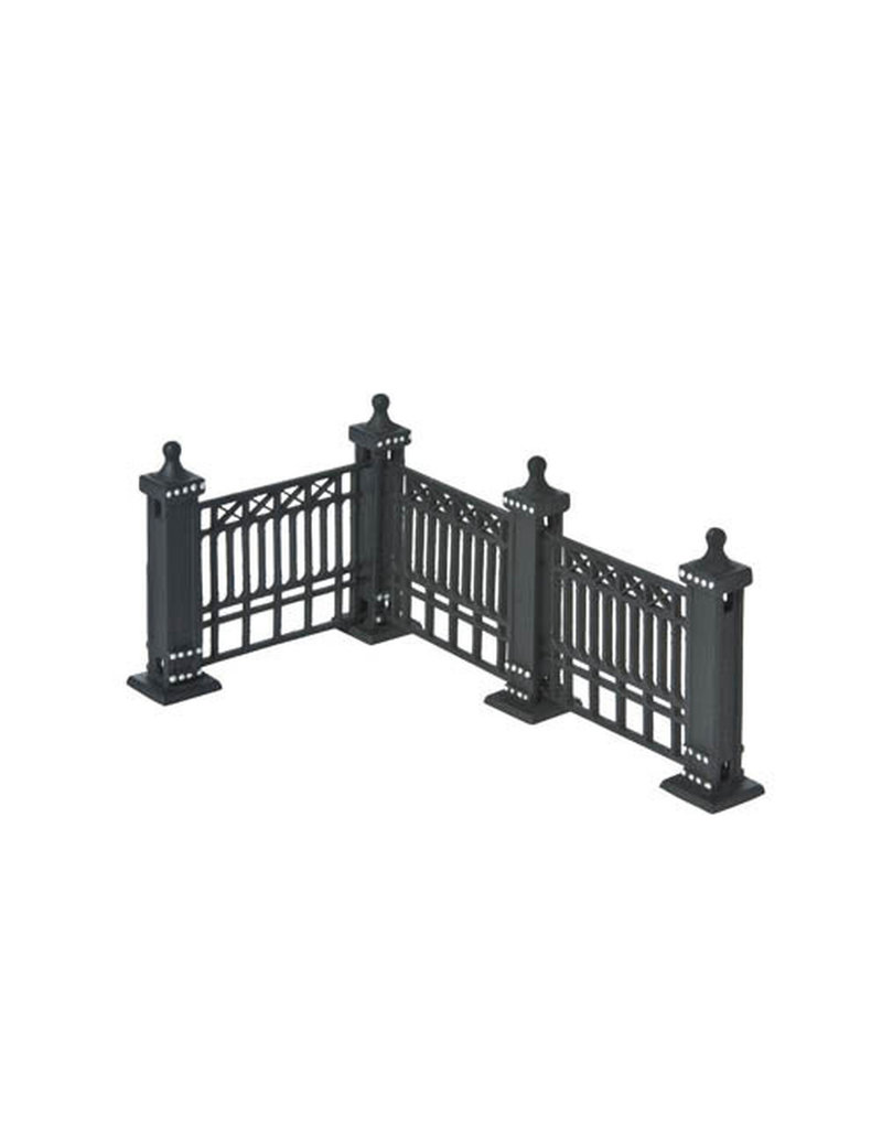 Department 56 City Fence Set of 7 for Department 56 Village