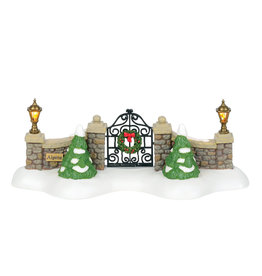 Department 56 Alpine Village Gate by Department 56