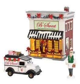 B-Sweet Shop Set of 3 for Snow Village