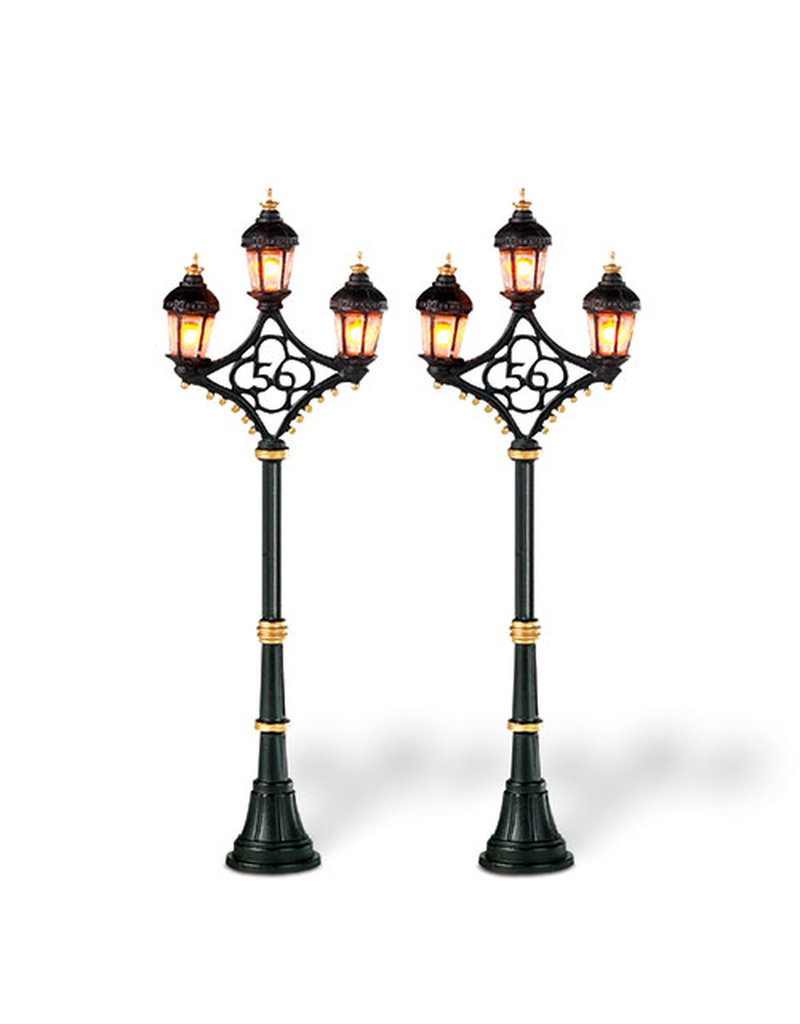 Department 56 Fifty Six Street Lamps for Department 56 Village