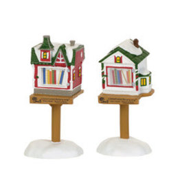 Department 56 Little Free Libraries Set of 2 for Department 56 Village