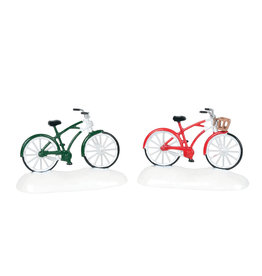 Department 56 Christmas Bikes Set of 2 for Department 56 Village