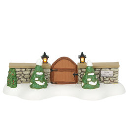 Department 56 New England Village Gate for Department 56 Village