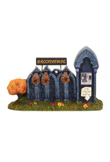 Broomshare for Halloween Village