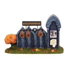Broomshare for Halloween Village