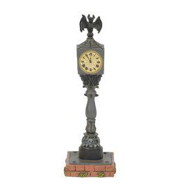 Department 56 Halloween Town Clock for Halloween Village