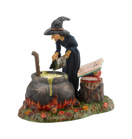 Department 56 Fire Burn and Cauldron Bubble for Halloween Village