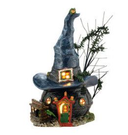 Department 56 Toads & Frogs Witchcraft Haunt for Halloween Village