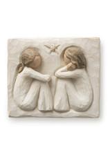 Willow Tree Friendship Plaque